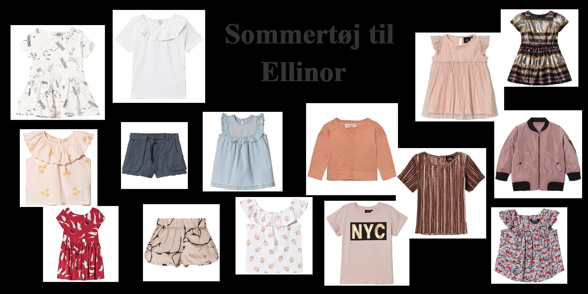 Sommertøj inspiration til Ellinor