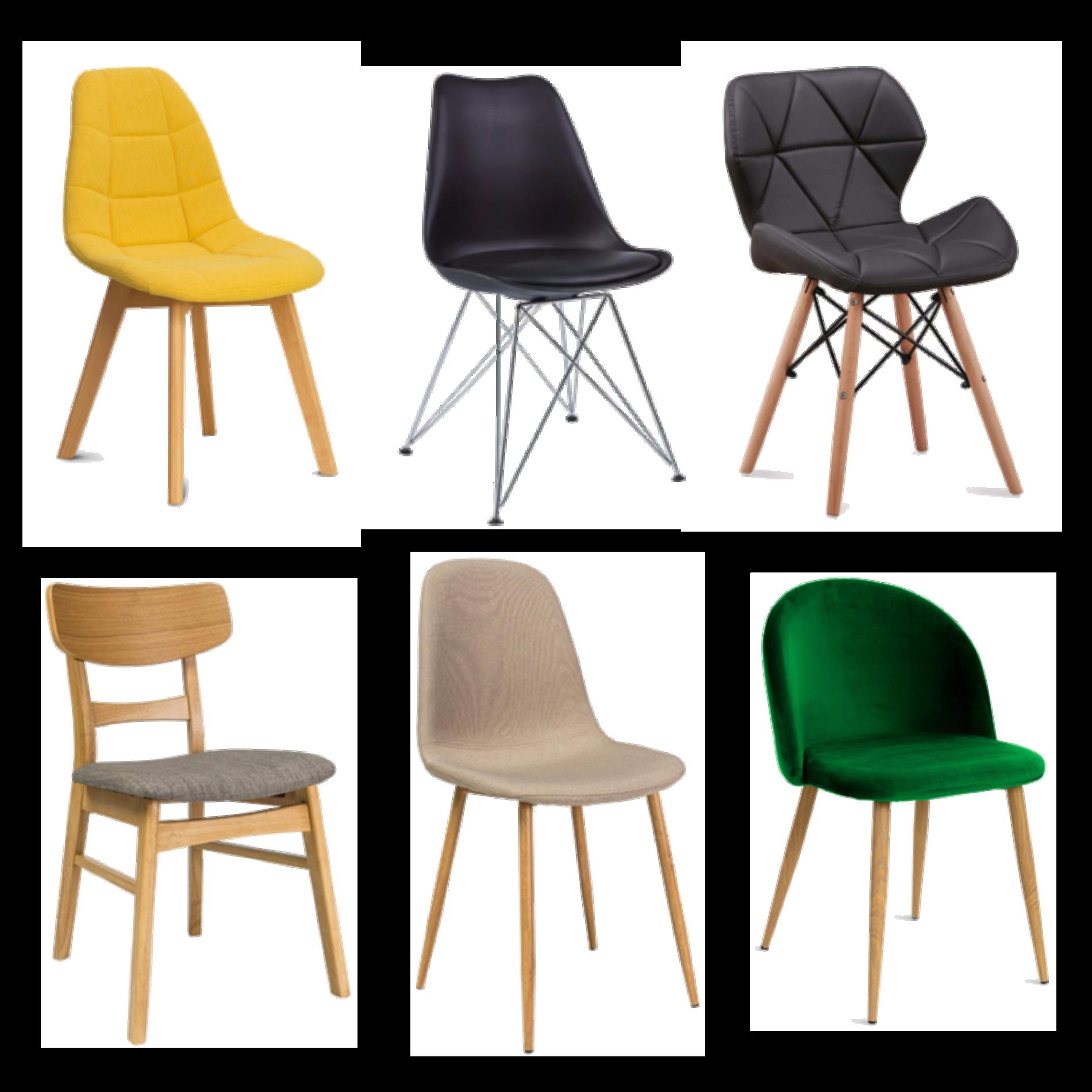 szybka metamorfoza salonu krzesła inspiracje