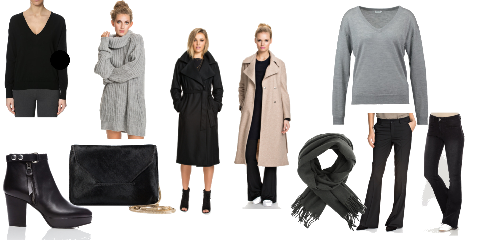 how to match - the long coat