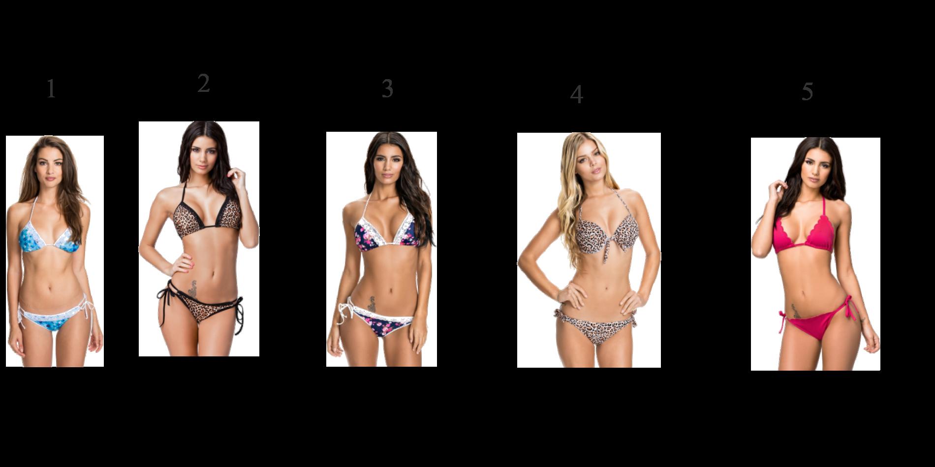 Sjukt snygga bikinis.