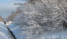 Ataust balts un sniegots rīts...