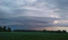 Negaisi jūnija sākumā (foto apkopojums)