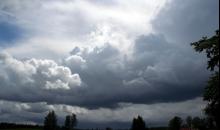 Mākoņi un lietusgāzes 18.-21.jūlijā