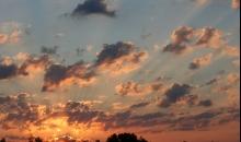 Piektdienas saullēkts.