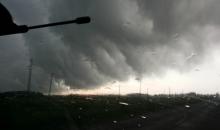 2014.g.20.maija negaisa mākoņi pie Vecumniekiem