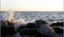 Jūra atvadās no ziemas..
