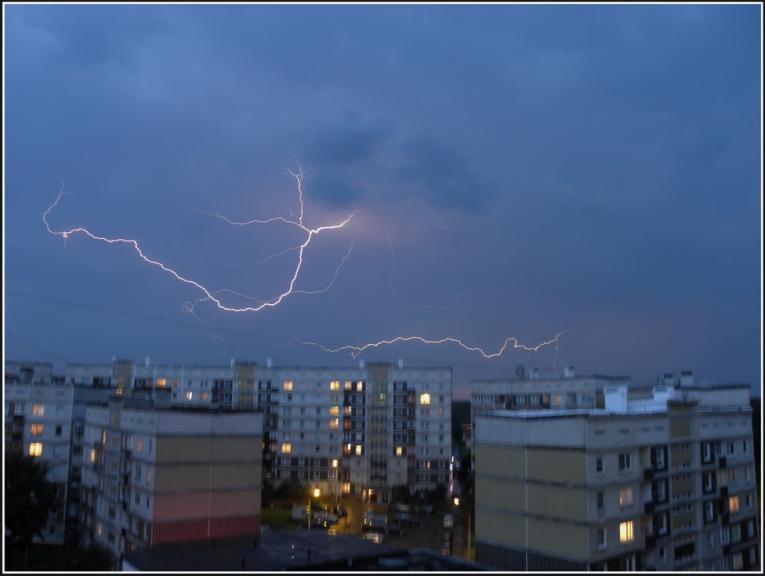 Autors: gubumākonis. Svelmei seko negaiss ar vētru, Rīga, 29.07. vakars