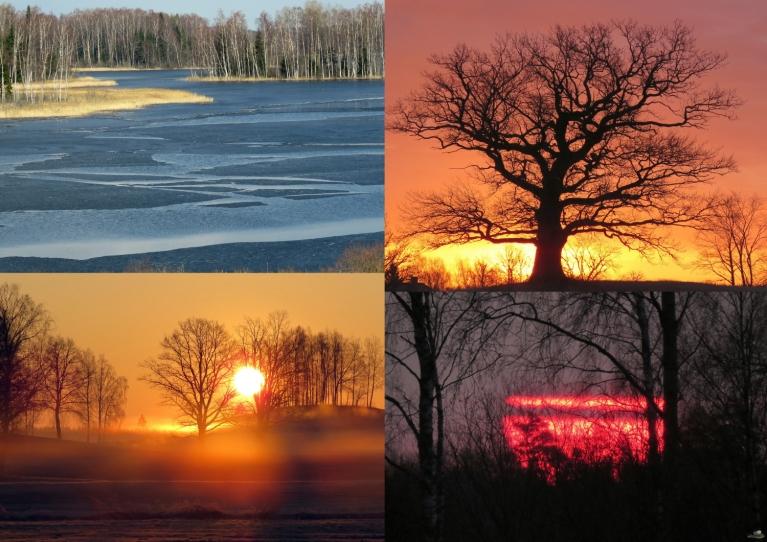 Aprīlis. Aukstākais rīts 16.04. -4°, siltākā diena 06.04. +19°.