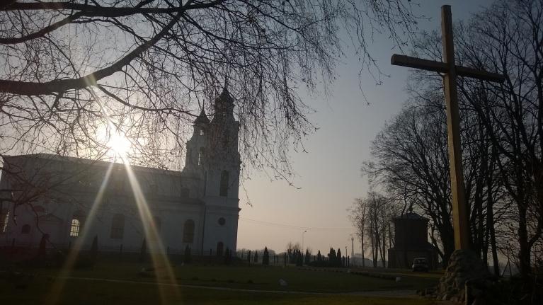 Ludzas baznīca novembra sākumā