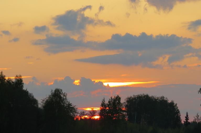 Mierīgs saulriets 16.05.
