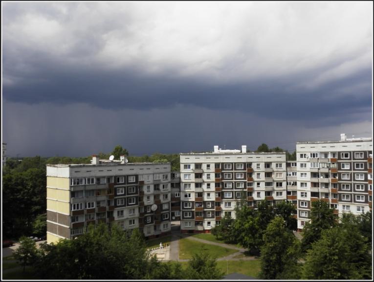 Autors: gubumākonis. Negaisa mākonis Rīgā, 10.jūlijs