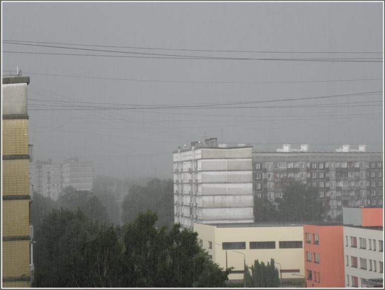 Autors: gubumākonis. Otrais negaiss Rīgā, 20.06.2011