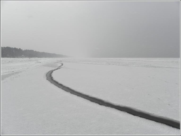 Autors: gubumākonis. Sniegputenis Jūrmalā. 12.02.2012.