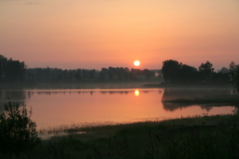 Autors: muntis. Vecpiebalga, 2.07.2012. Saullēkts.