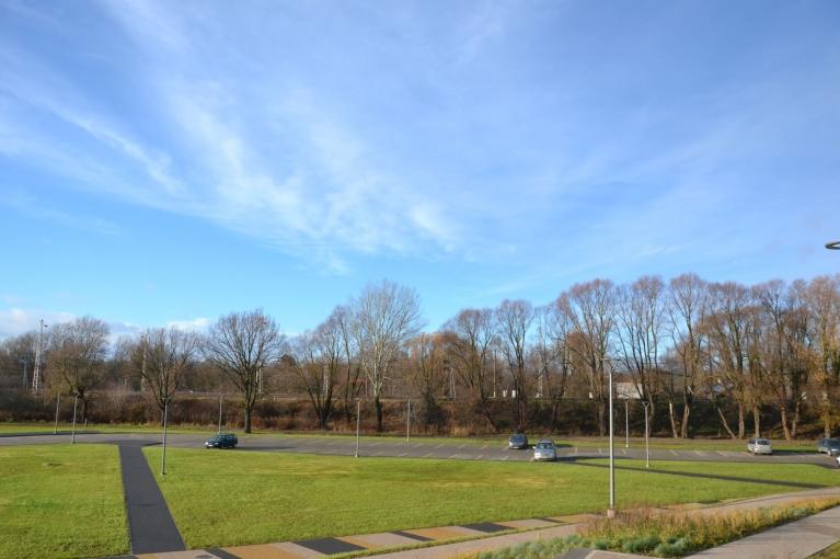 Pēc divām dienām - 14. novembrī - pēcpusdiena atkal saulaina.
