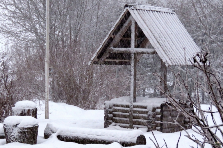 Atkal snieg. 25.02.