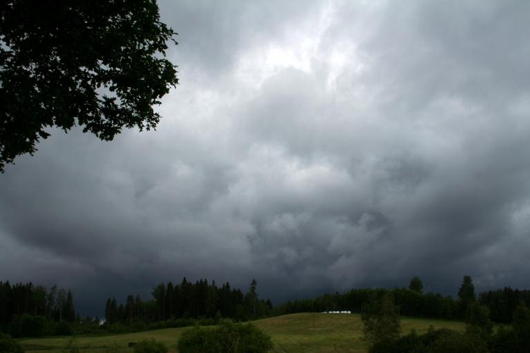 Autors: muntis. Vecpiebalga, 6.07.2012. Negaiss nāca, bet neatnāca.