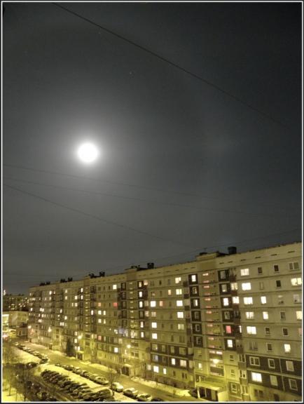 Mēness halō naktī