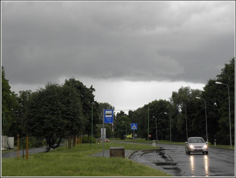 Autors: gubumākonis. Pirmais negaiss Rīgā, 20.06.2011