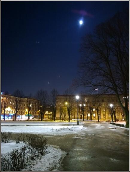 Foto: gubumākonis. Nakts uz 3.februāri, Rīga