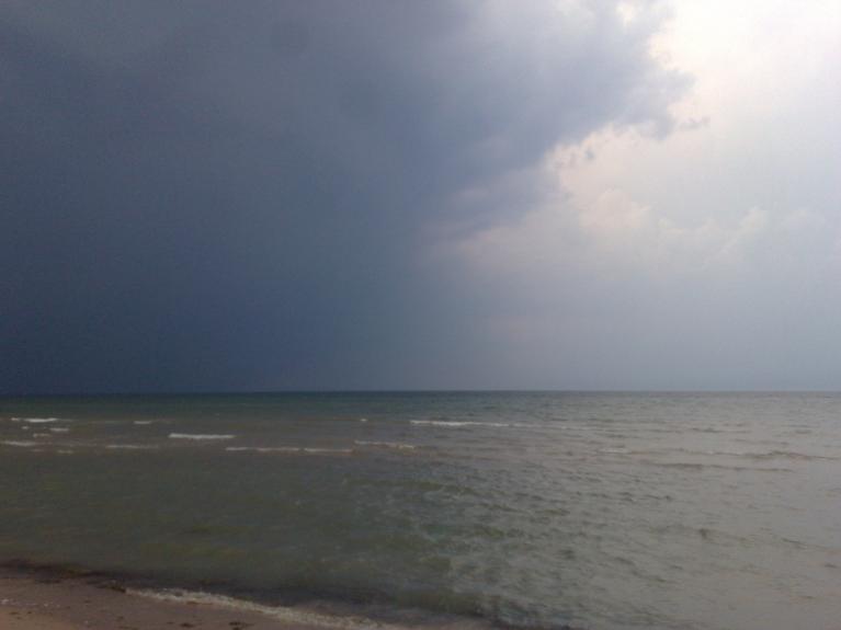 Autors: Kurzeme. Negaiss Jūrkalnē, 29.jūlija vakars