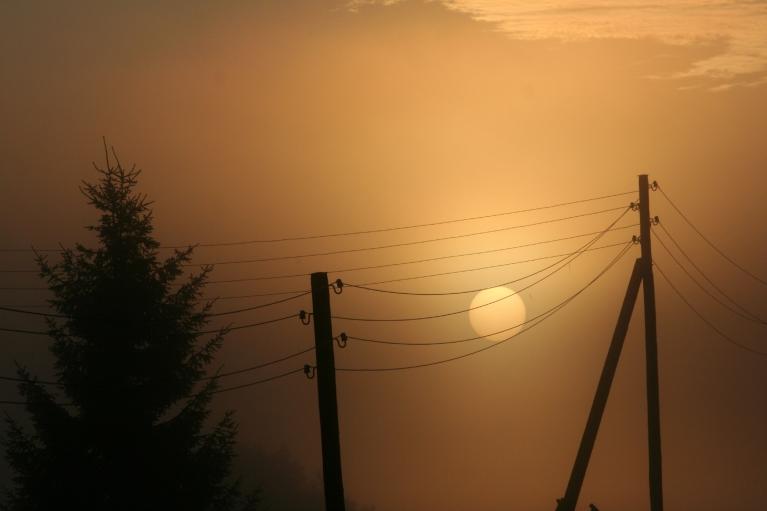 Saulīte ražo elektrību!...