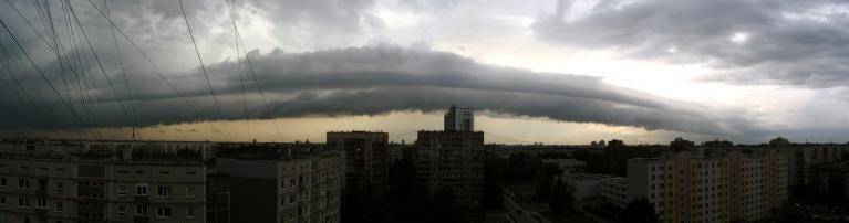 Autors: Oto Turks. Negaisa valnis Rīgā, 9.jūlija vakars