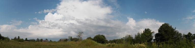 Rīta negaiss 8. jūlijā Viļakā