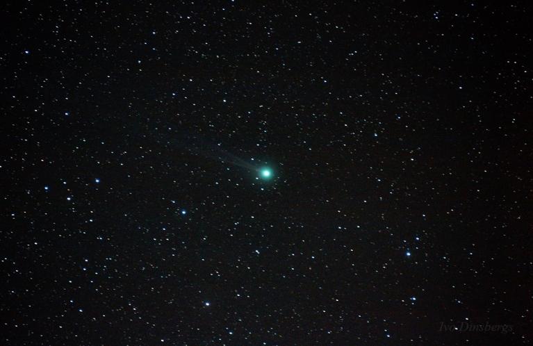 Komēta C/2014 Q2 Lovejoy. Tīnūži, 18. janvāris.
