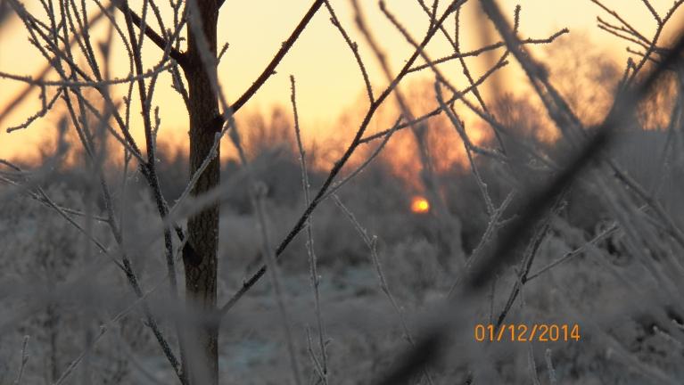Vakars pirms lielā aukstuma.
