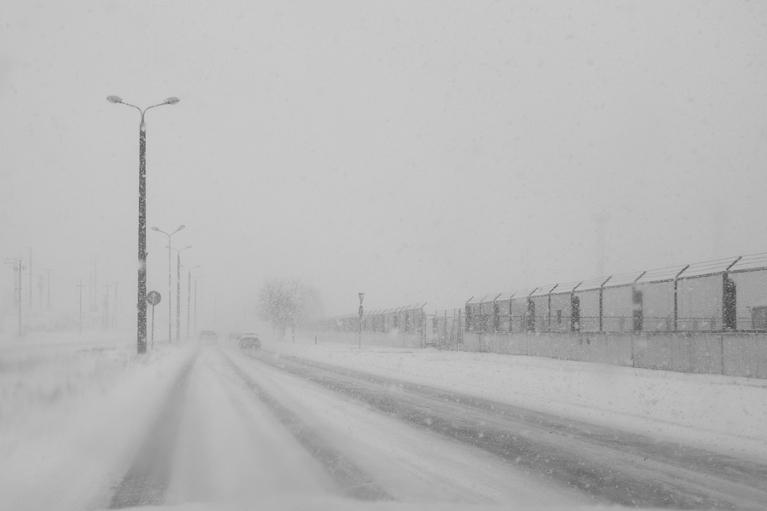 Stiprs sniegs martā. 2014.03.17