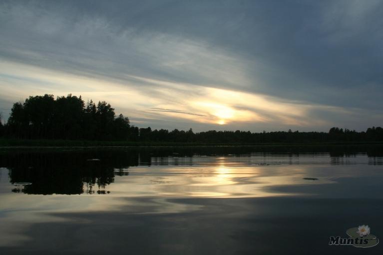 Autors: muntis. Vakars uz ezera, 29.07.