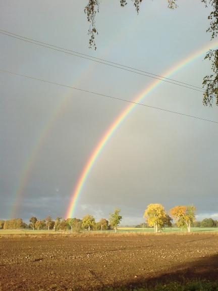 Šī jau laikam ir dubultā varavīksne.