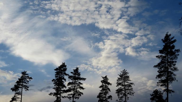 Foto: Migla. Interesantās aprīļa noslēguma debesis