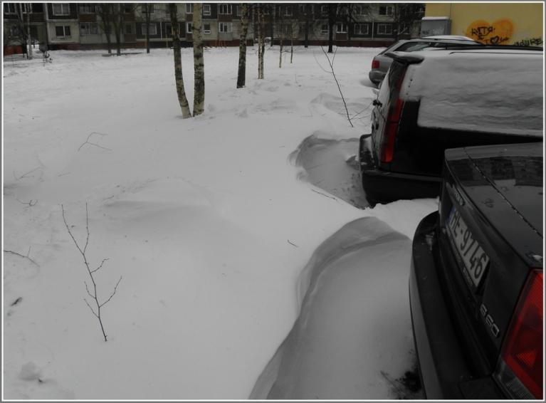 Autors: gubumākonis. Puteņo arī Rīgā (16.12.)