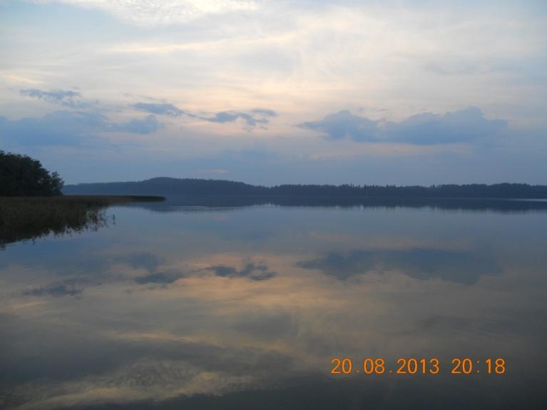Vakars pie Nirzas ezera