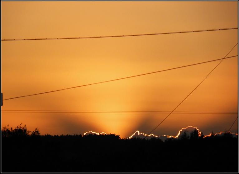 Autors: gubumākonis. 20.septembra saulriets