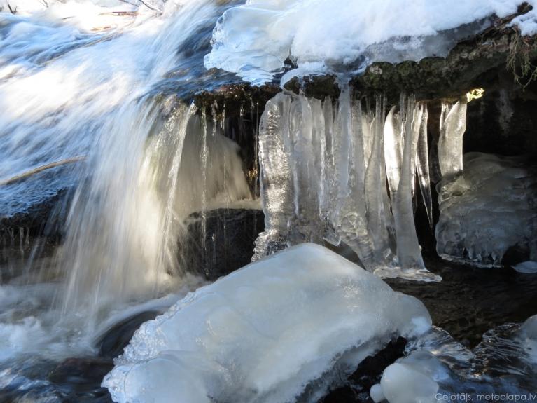 Ventspils, pie Būšnieku ezera. 2013.gada 25.februāris.