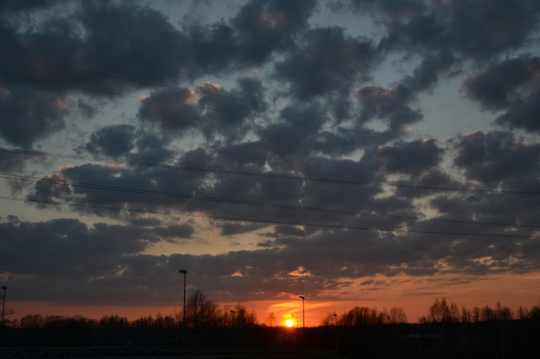 """Mana """"fotonedēļa"""" noslēdzas ar saulrietu siltā sestdienas vakarā...:)"""