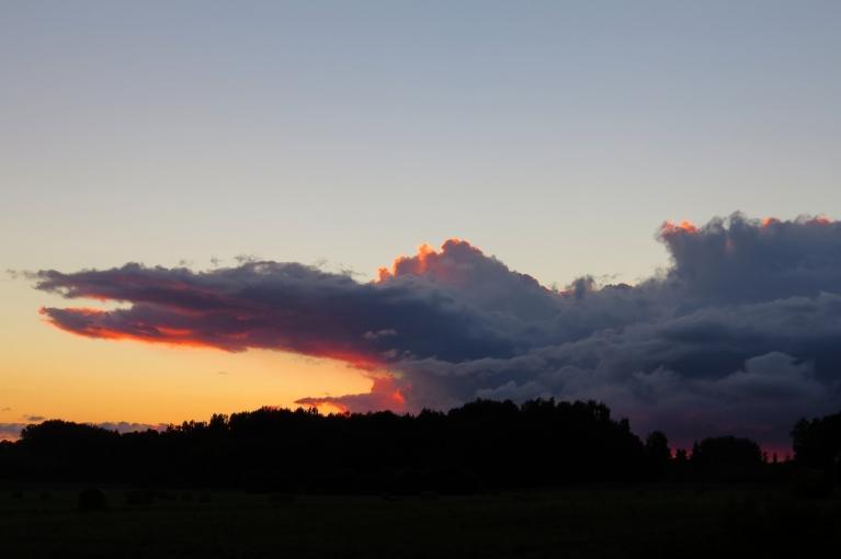 """15. augusta vakars un """"saulrieta krokodils"""" -(šis foto ir īpašs dzimšanas dienas sveiciens Muntim:)"""