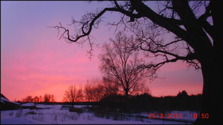 Autors: ilga123. Sarkanīgās debesis, 25.03.