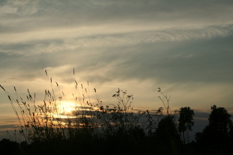 Liekas, ka skaista saulrieta nebūs un saulīte iebridīs mākoņos, (23.06. pl. 21:09)