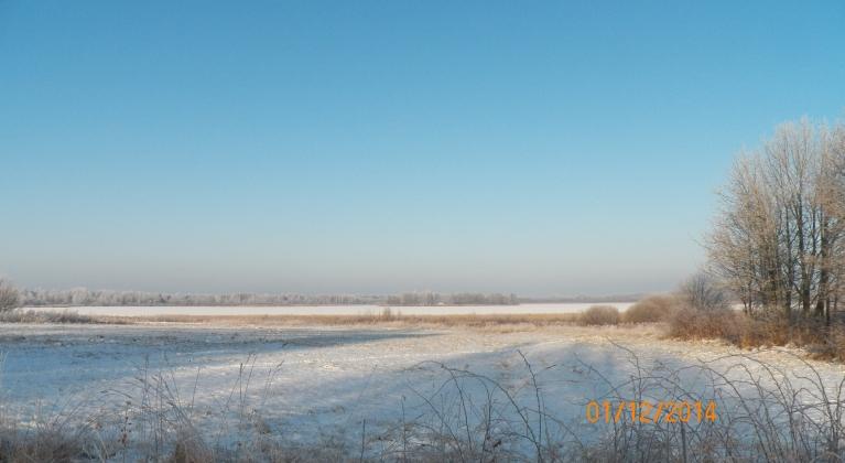 Viļakas ezers. Zemledus mašķernieki jau sen brīvi staigā pa visu ezeru.