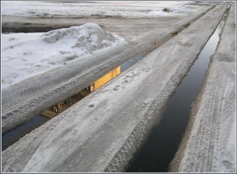Autors: gubumākonis. Sniegs, ūdens un ledus Rīgā, 06.03.