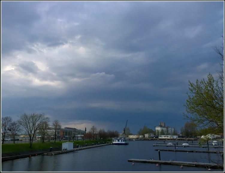 Foto: gubumākonis. Pirmie pavasara negaisi, 27.04.