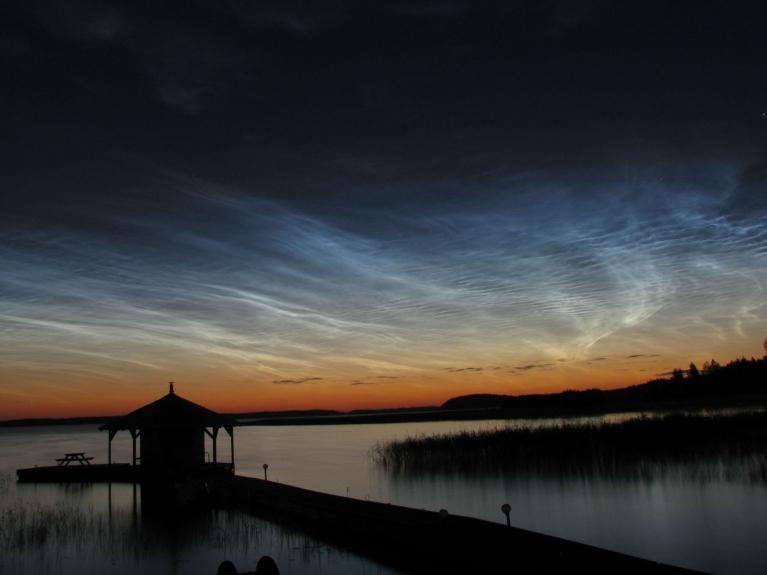 Foto: Karļitooo. 11.07. nakts pie Usmas ezera.