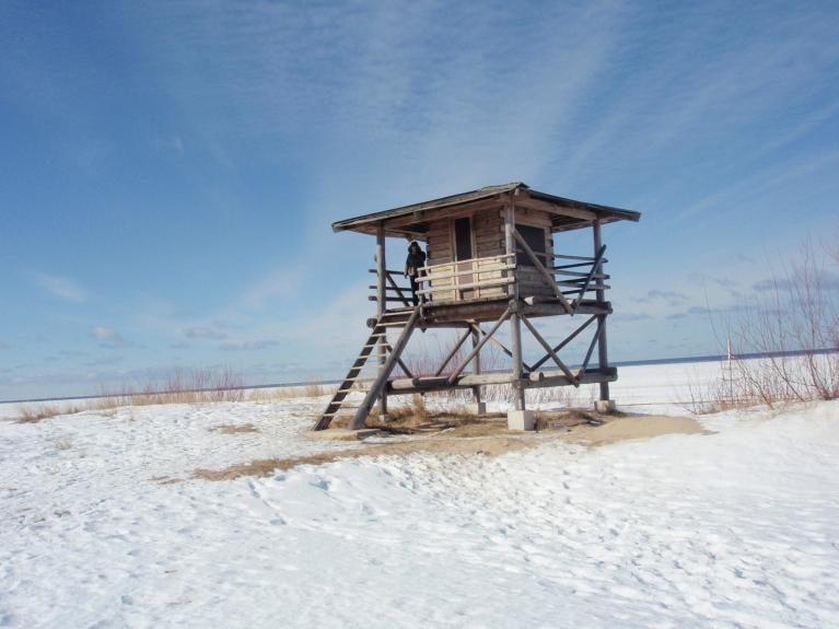 Autors: saulcerīte. Bolderājas pludmalē, sauli meklējot 9.03.