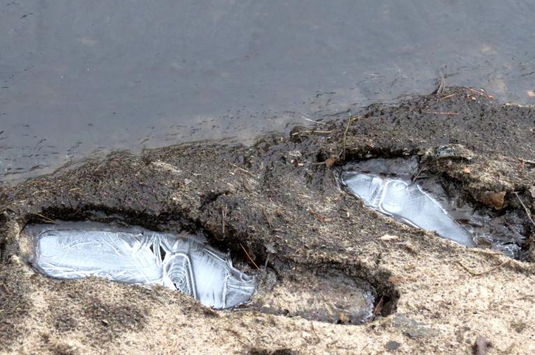 Pirmais janvāris atausa cerīgs- ar nelielu saliņu, kaut arī bez sniedziņa.