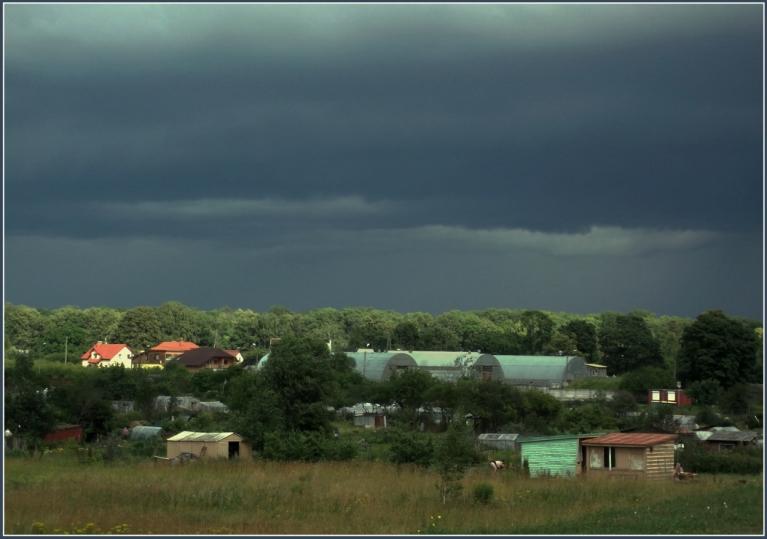 Autors: gubumākonis. Ciklona JORG aukstā fronte, 3.07.2011