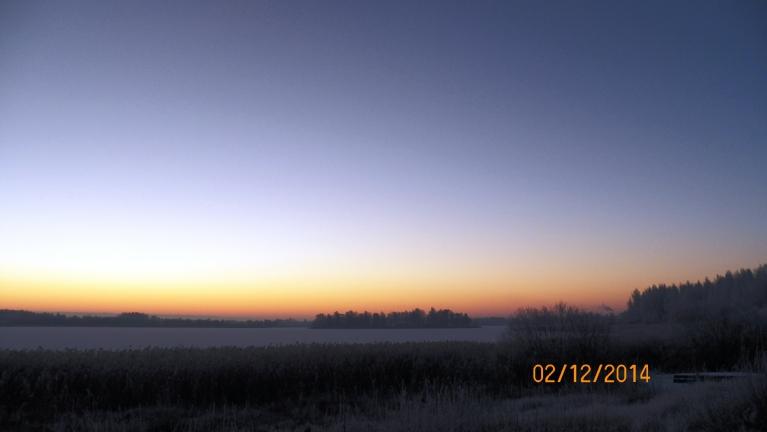Pirms saullēkta...